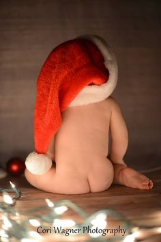 Sweet baby Christmas Picture