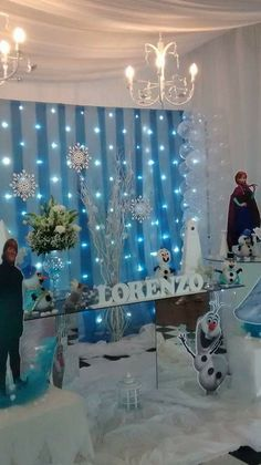 Olaf Party, Frozen Party Games, Frozen Themed Birthday Party, Disney Frozen Birthday, Disney Princess Party, Minnie Birthday, Birthday Party Decorations, 3rd Birthday, Frozen Decorations