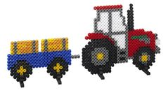 Tractor Hama Fuse Beads