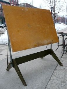 1940s Drafting Table