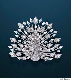 A peacock diamond brooch... http://www.blogcdn.com/www.luxist.com/media/2009/12/luxist-best-jewelry-graff-2.jpg