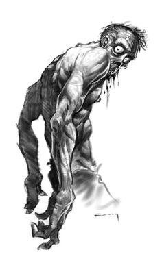 Zombie Sketch by ~PReilly on deviantART