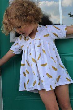 FREE Abby's Sweet V-Neck (Sizes 2T-10) | Craftsy