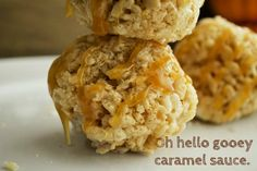Caramel Corn Rice Krispy Treats