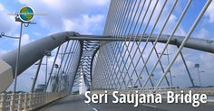 Seri Saujana Bridge is an elegant, futuristic bridge in Putrajaya. Putrajaya, Futuristic, Travel Tips, Bridge, Asia, Travel Advice, Bridge Pattern, Bridges, Travel Hacks
