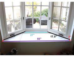 Image Of Diy Bay Window Seat Details