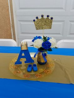 Baby prince baby shower theme.. #PrinceAiden