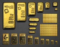 Since precious metals are considered as part of the foundation of a portfolio, it is a sensible decision to allocate a small percentage of your net worth in gold and silver. I Love Gold, Buy Gold And Silver, Sell Gold, Gold Bullion Bars, Gold Reserve, Buy Edibles Online, Money Stacks, Gold Money, Silver Bars
