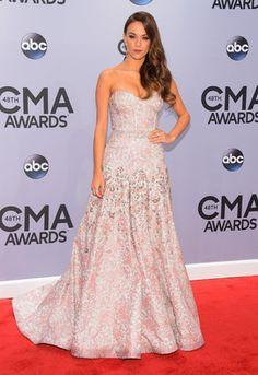 Jana Kramer - CMA Awards 2014 Red Carpet