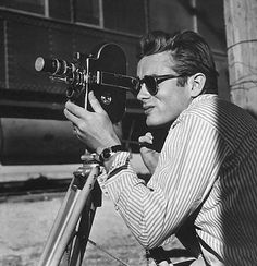 James Dean wearing Ray Ban