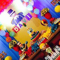 Mundo Bita para comemorar os 2 aninhos de Davi! Decoração da nossa parceira @encantefestasrecife ...