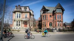 Detroit Neighborhoods, Carousel, Cycling, The Neighbourhood, Street View, Mansions, Park, House Styles, Home