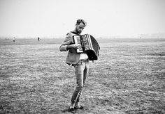 It's a problem so knotty, it's Gordian— why I love men who play the accordion. They pump and they squeeze. They bellow and wheeze. My analyst says that it's Freudian. Creative Couples Photography, Couple Photography, White Photography, Accordion Music, Bohemian Men, Skinny Guys, Music Like, Pretty People, Deviantart