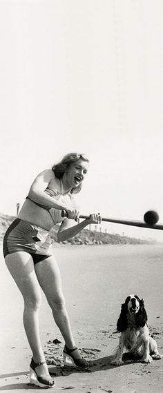 Marilyn. Photo by Joseph Jasgur, 1947.