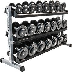 Kurzhantelablage, 3-stufig  -  in 3 verschiedenen Breiten. Jetzt sichern unter: http://www.megafitness-shop.info/Kraftsport/Hanteln-Gewichte/Hantelstaender-Ablagen/Kurzhantelablage-3-stufig-in-3-verschiedenen-Breiten--1143.html
