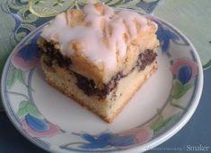 Makowiec z budyniem Jello, Cheesecake, Deserts, Pudding, Sweets, Polish, Food, Cakes, Reposteria