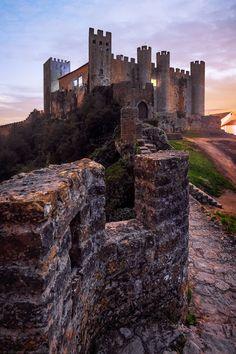 Castle, Obidos, Portugal Google+