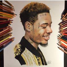 artist on IG for this artwork of Fetty Wap! This is too dope 💯 Black Women Art, Black Art, Cartoon Drawings, Art Drawings, Rapper, Dope Cartoons, African American Art, Dope Art, Rap Music