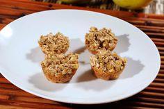 Cupcakes de manzana y quinoa sin gluten - Receta fácil de preparar
