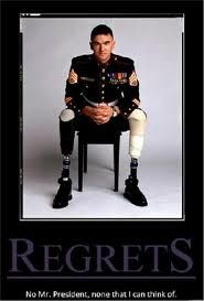 Staff Sergeant USMC -- amazing strength for a person to survive this and put a uniform back on! Thank you!