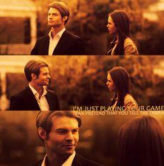 DanielGillies ♥ #NinaDobrev  Elijah and Elena