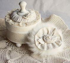 Jane Austen Bath Powder Container Bath Powder Puff