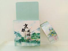 Japanese Pagoda Washi Tape by GoatGirlMH on Etsy
