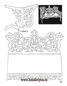 Художественное выпиливание .:. Classic Fretwork Scroll Saw Patterns (Sterling 1991 год)_82