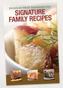 Free Reynold's Wrap Signature Family Recipe Book