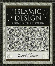 a beautiful book on islamic design, geometric images