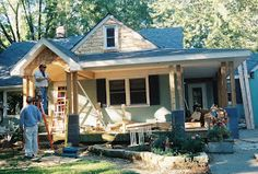 Adding a porch to upgrade your home exterior