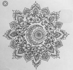 Unique tattoo ideas for girls - Tattoo 100 – Alllick - Mandala Tattoo ♡ - Tatoo Ideen Trendy Tattoos, Love Tattoos, Unique Tattoos, Beautiful Tattoos, New Tattoos, Body Art Tattoos, Girl Tattoos, Tattoo Girls, Mandala Tattoo Design