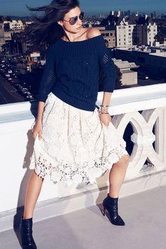 Модные юбки осень-зима 2014-2015: миди, мини и другие | Trendy-u.ru