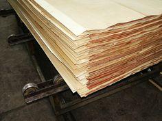 Vi har tynne finerplater, samt tykke og alt i mellom - Møbelplater