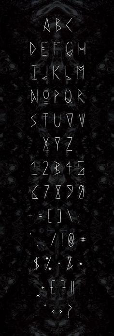 HAEXT Typeface on Behance