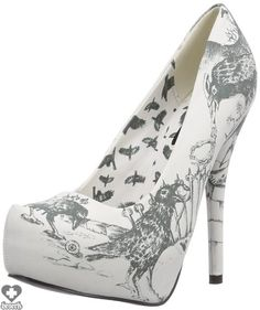 Nevermore Platform Heels - Iron Fist #ironfist #nevermore #crows