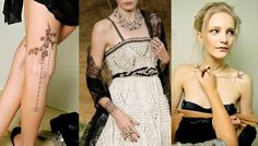 Chanel To Sell Runway Inspired Temporary Tattoos - Make Her Up Chanel Tattoo, Stars D'hollywood, Vogue, Fake Tattoos, Little Fashion, Skin Art, Style Inspiration, Tattoo Inspiration, Runway
