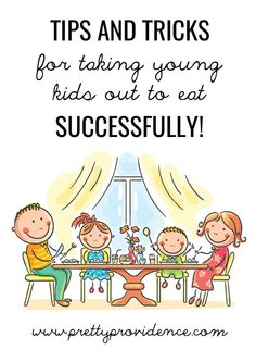 Really great tips in here for taking young kids out to eat successfully! I had never thought of some of these before! Great list of restaurants where kids eat free, too. #celebratefamilyvalues #spon