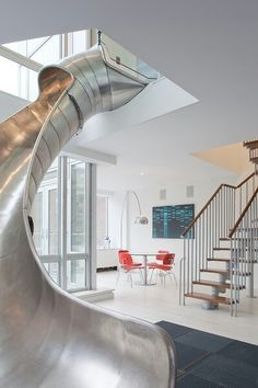 My house will have a slide.