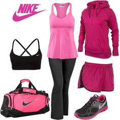 Untitled #92 by jen-quade on Polyvore featuring Lija, NIKE and Old Navy