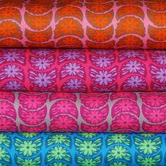 True Colors - Anna Maria Horner - Crescent Bloom - bundle x 4