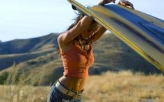 Actress Megan Fox in 'Transformers' movie wallpaper