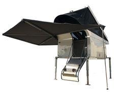 Australian made Aluminium slide on camper, 30 second set up, Lrg queen size bed.