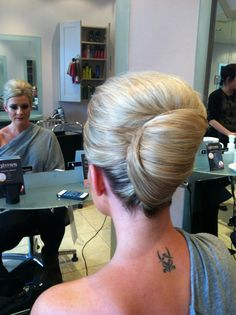Saz- What I don't want with French twist...the volume at the top...as lovely as…