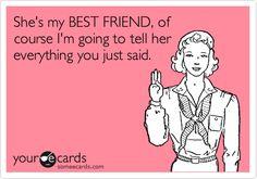 To my bestest