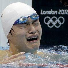 Sun Yang wins GOLD swimming 800m China 2012 Olympics
