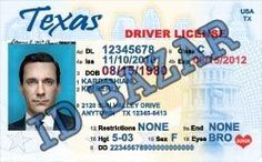 Fake id Texas driver license psd template. we provide high quality fake id templates only $4.95 each.