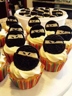 Ninja cupcake                                                                                                                                                                                 More