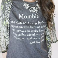 And that without your coffee you'll be no good to anyone. | 20 Shirts That Understand Your Life As A Mom
