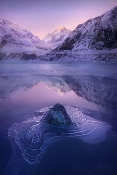 From New Zealand Aoraki National Park, Photograph Imprint by abdulla almajed on Beautiful World, Beautiful Places, Historical Sites, Bellisima, Trip Planning, Mother Nature, Landscape Photography, Nature Photography, National Parks